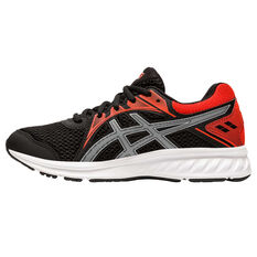 Asics Jolt 2 Kids Running Shoes Black/Red US 4, Black/Red, rebel_hi-res
