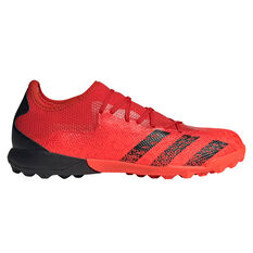 adidas Predator Freak .3 Low Touch and Turf Football Boots Red/Black US Mens 7 / Womens 8, Red/Black, rebel_hi-res