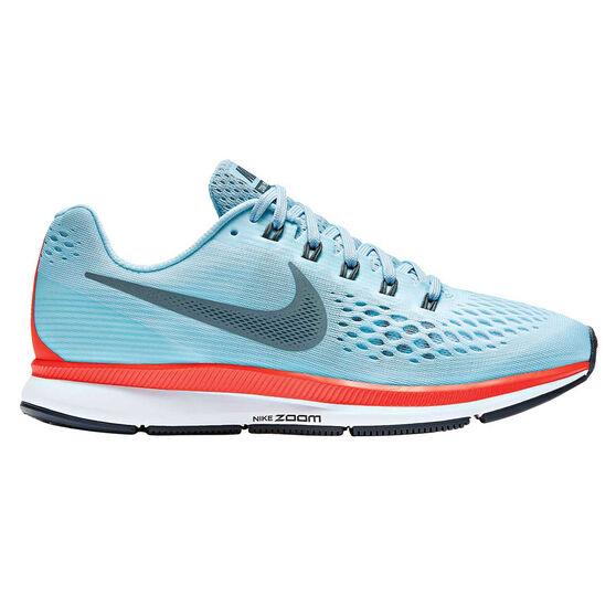 5ff501199f1e Nike Air Zoom Pegasus 34 Womens Running Shoes Blue   Orange US 9 ...