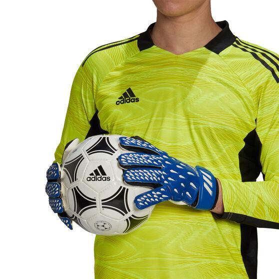 adidas Predator Training Goalkeeping Gloves, Blue, rebel_hi-res