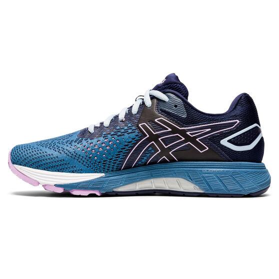 Asics GT 4000 2 D Womens Running Shoes, Blue/Navy, rebel_hi-res