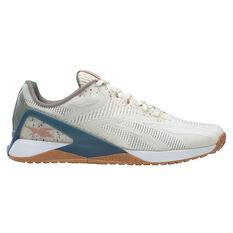 Reebok X1 Grow Mens Training Shoes White/Green US 8, White/Green, rebel_hi-res