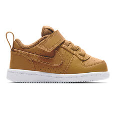 Nike Court Borough Low Toddlers Shoes Brown / White US 2, Brown / White, rebel_hi-res