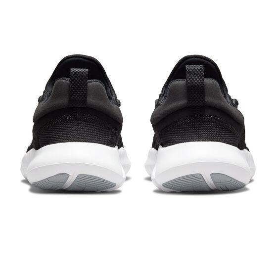 Nike Free RN 5.0 Mens Running Shoes, Black/White, rebel_hi-res