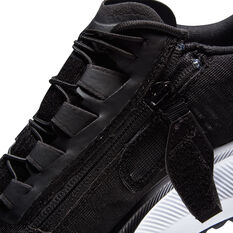 Nike Air Zoom Pegasus 37 Flyease Mens Running Shoes, Black/White, rebel_hi-res
