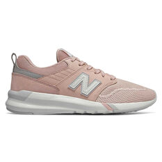 New Balance 009 Womens Casual Shoes Pink / White US 6, Pink / White, rebel_hi-res
