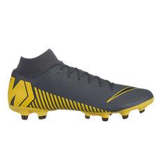 Nike Mercurial Superfly 6 Academy Mens Football Boots Grey / Black US Mens 7 / Womens 8.5, Grey / Black, rebel_hi-res