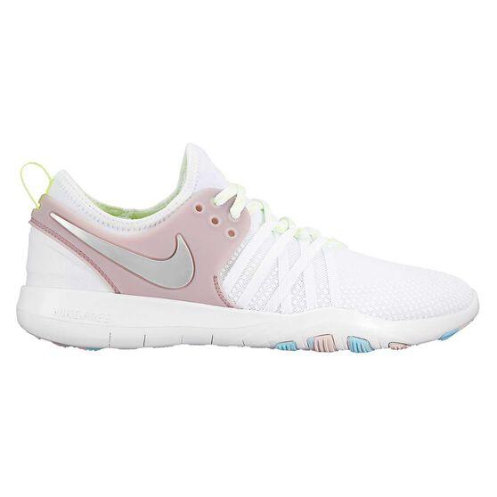 Nike Free Train 7 Womens Training Shoes, White, rebel_hi-res