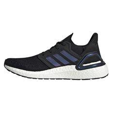 adidas Ultraboost 20 Space Race Mens Running Shoes Black / Purple US 8, Black / Purple, rebel_hi-res