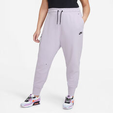 Nike Womens Sportswear Tech Fleece Pants Purple XS, Purple, rebel_hi-res