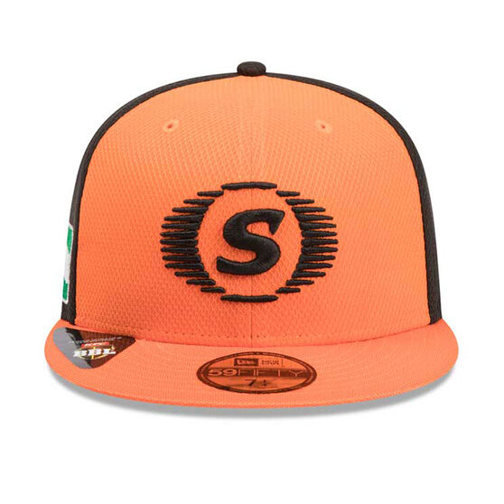Perth Scorchers New Era 59FIFTY Home Cap, Orange, rebel_hi-res