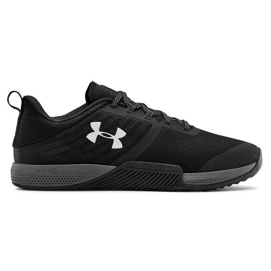 Under Armour Tribase Thrive Mens Training Shoes, Black / Grey, rebel_hi-res
