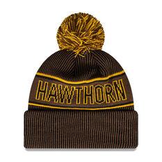 Hawthorn Hawks New Era Supporter Beanie, , rebel_hi-res