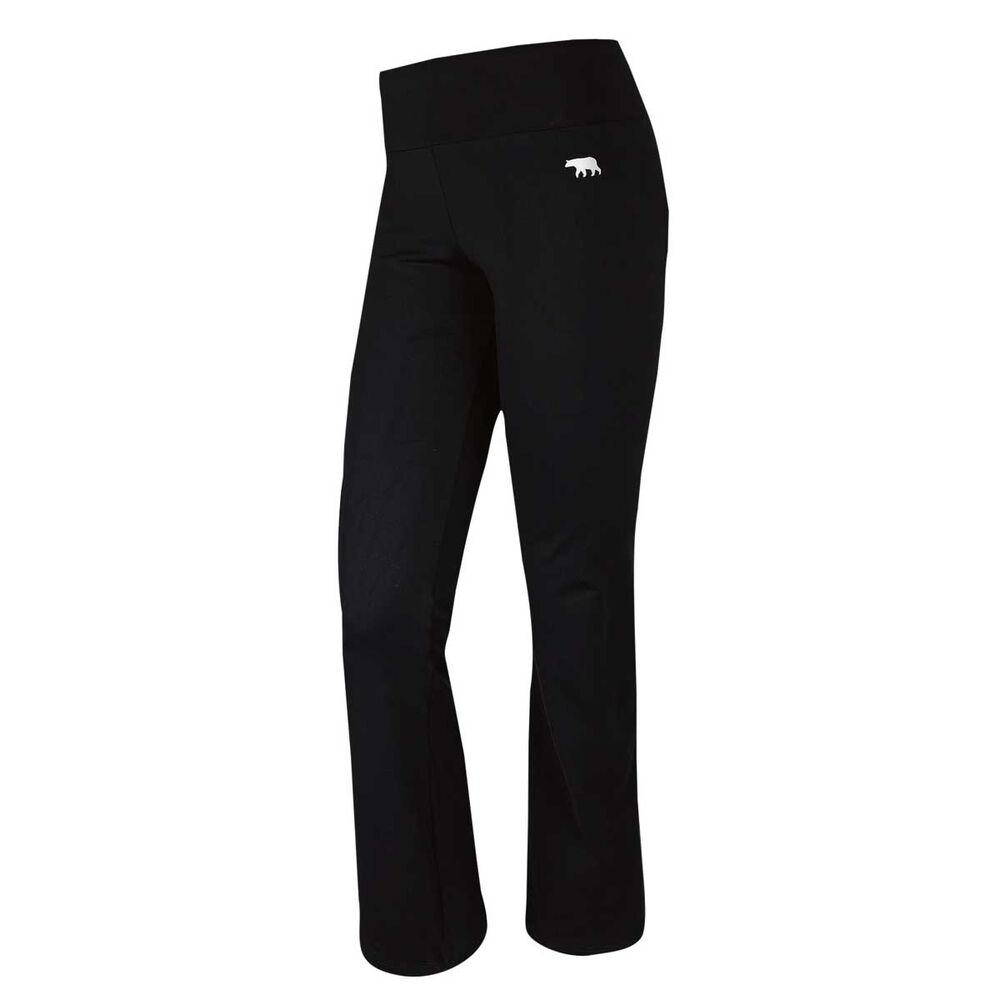 3991c493 Running Bare Womens High Rise Jazz Training Pants Black 8 Adult