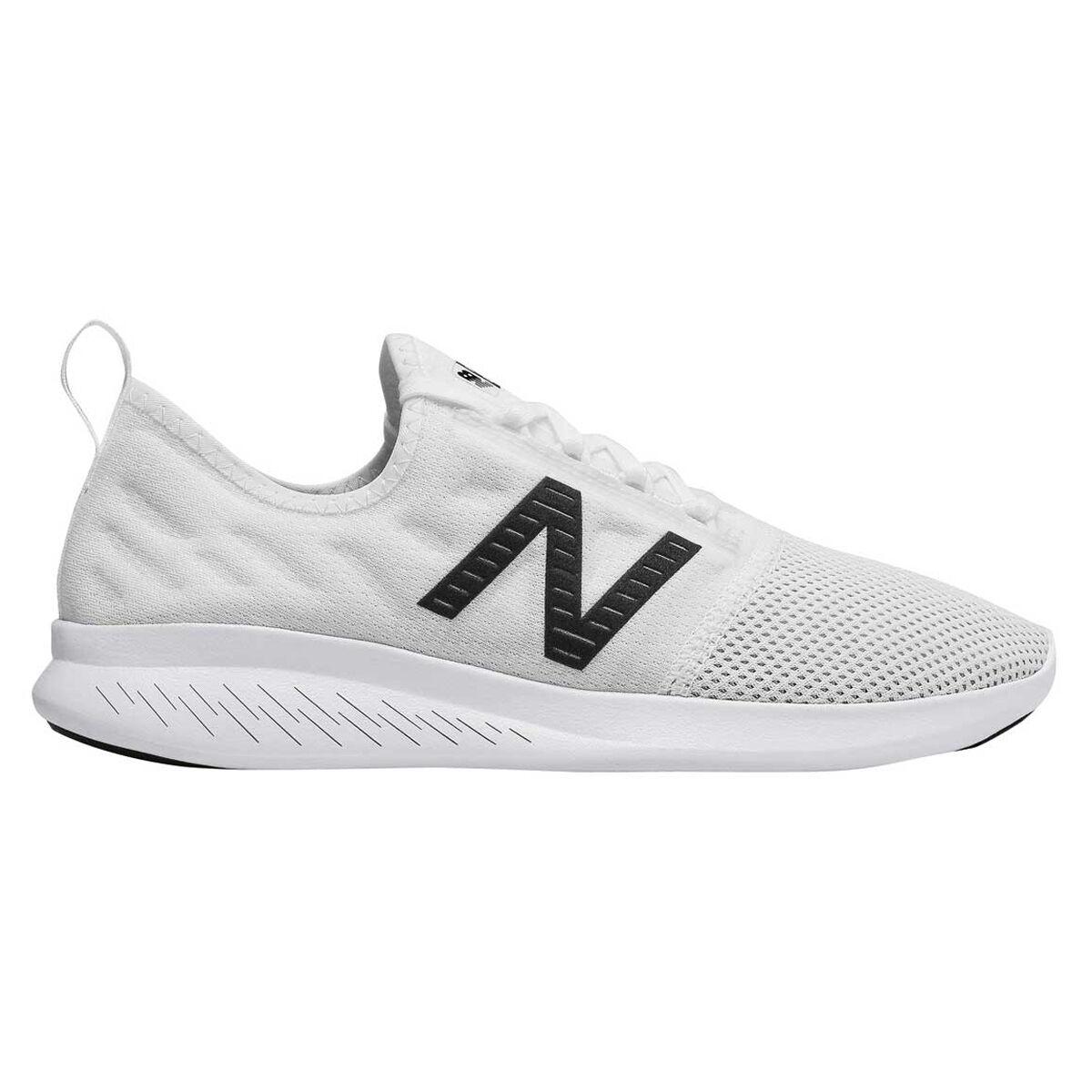 new balance running white
