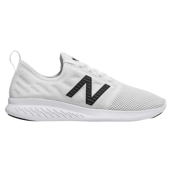 New Balance FuelCore Coast v4 Womens Running Shoes, White, rebel_hi-res