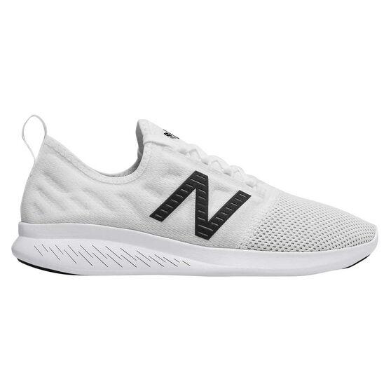 New Balance FuelCore Coast v4 Womens Running Shoes White US 9.5, White, rebel_hi-res