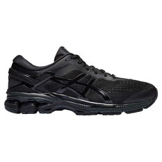 Asics GEL Kayano 26 4E Mens Running Shoes Black US 7, Black, rebel_hi-res