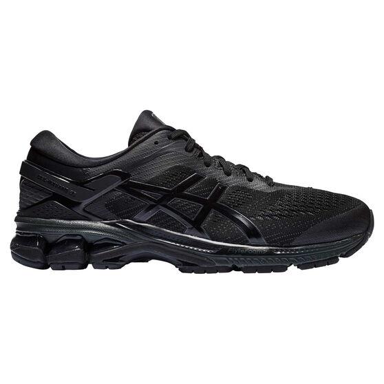 Asics GEL Kayano 26 4E Mens Running Shoes, Black, rebel_hi-res