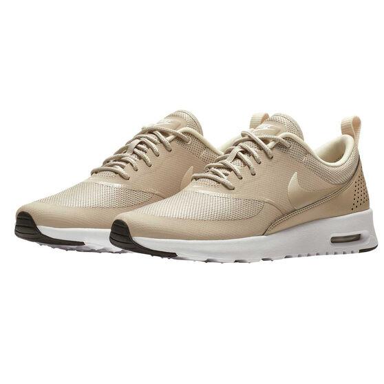 Nike Air Max Thea Womens Casual Shoes, Black / White, rebel_hi-res