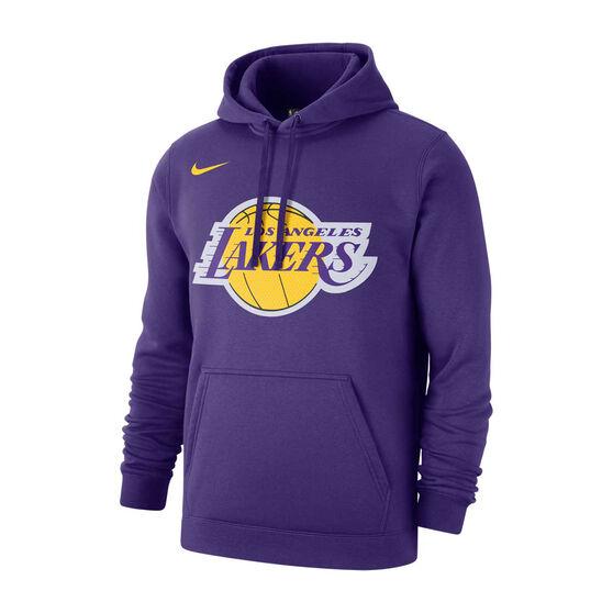 Nike Los Angeles Lakers Mens Club Logo Hoodie, , rebel_hi-res