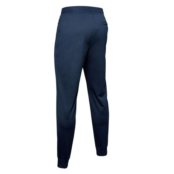 Under Armour Mens Sportstyle Tricot Track Pants Navy M, Navy, rebel_hi-res
