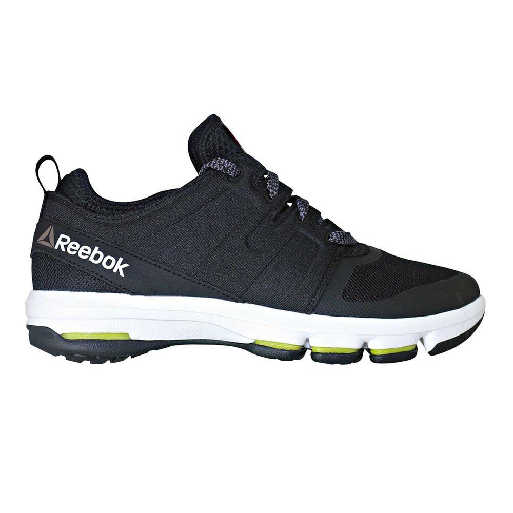 82051383e453 Reebok CloudRide DMX Mens Walking Shoes Black   White US 8
