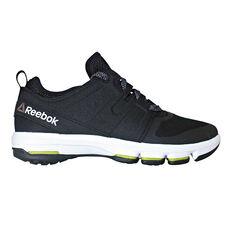 Reebok CloudRide DMX Mens Walking Shoes Black / White US 7, Black / White, rebel_hi-res
