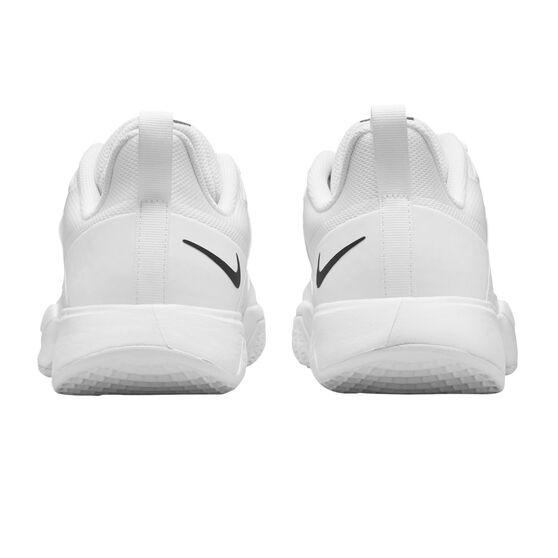 NikeCourt Vapor Lite Mens Hard Court Tennis Shoes, White/Black, rebel_hi-res