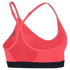 Nike Womens Indy Sports Bra Red / Black XS, Red / Black, rebel_hi-res