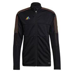 adidas Mens Tiro Pride Track Jacket Black S, Black, rebel_hi-res