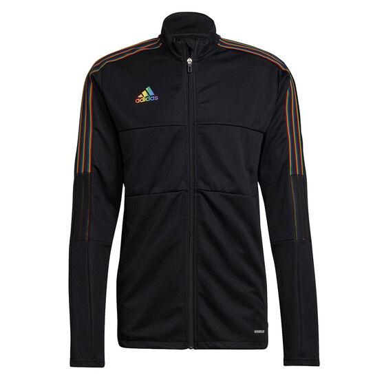 adidas Mens Tiro Pride Track Jacket, Black, rebel_hi-res