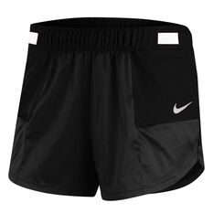 Nike Womens Tempo Lux Running Shorts Black XS, Black, rebel_hi-res