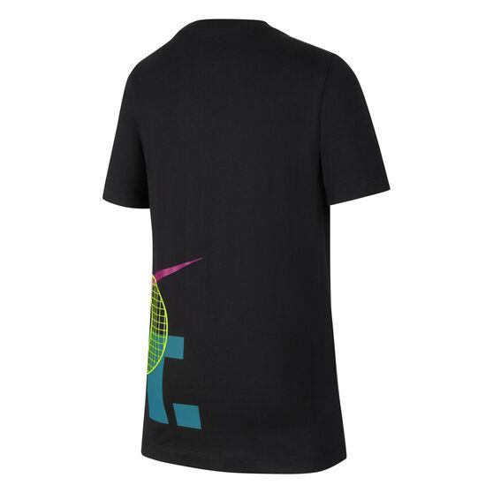 Nike Boys Sportswear Tee, Black, rebel_hi-res