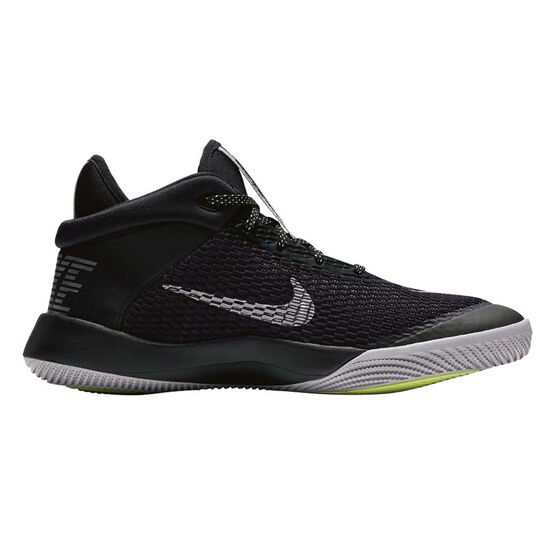 Nike Future Flight Kids Basketball Shoes, Black, rebel_hi-res
