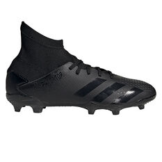 adidas Predator 20.3 Kids Football Boots Black US 11, Black, rebel_hi-res