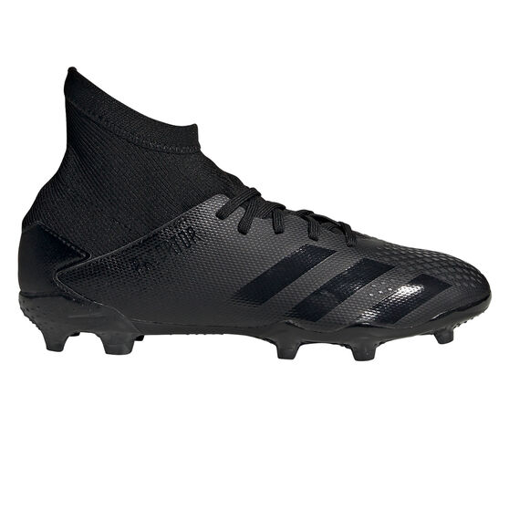 adidas Predator 20.3 Kids Football Boots, Black, rebel_hi-res