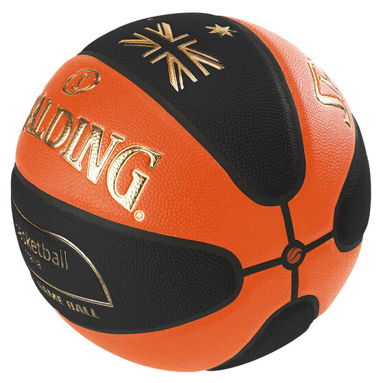 Spalding TF - Elite Basketball Australia Indoor Basketball Orange / Black 6, Orange / Black, rebel_hi-res