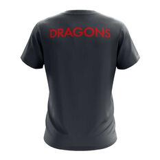 St. George Illawarra Dragons Exclusive Tee Grey S, Grey, rebel_hi-res