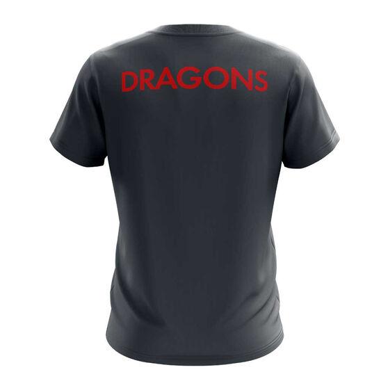 St. George Illawarra Dragons Exclusive Tee, Grey, rebel_hi-res