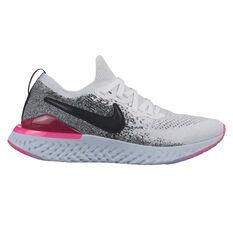 0b901da35d325 Nike Epic React Flyknit 2 Womens Running Shoes White   Black US 6