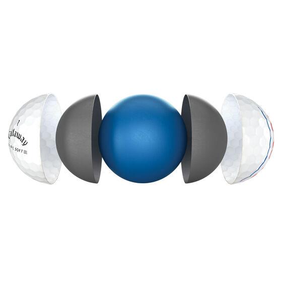 Callaway ERC Soft 21 Golf Balls White, , rebel_hi-res