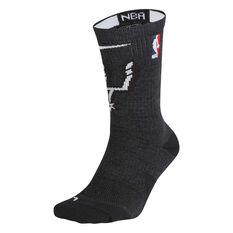 San Antonio Spurs NBA Crew Socks, , rebel_hi-res