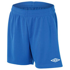 Umbro League Junior Football Shorts Royal L, Royal, rebel_hi-res