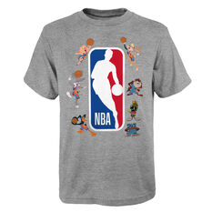 Space Jam: A New Legacy Squad Up Kids Tee Grey S, Grey, rebel_hi-res