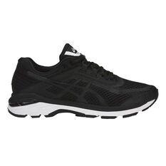 online store 06566 b43a8 Asics GT 2000 6 Mens Running Shoes Black   White US 7, Black   White
