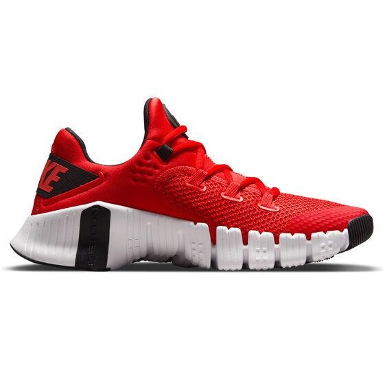 Nike Free Metcon 4 Mens Training Shoes, Red/Black, rebel_hi-res