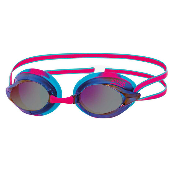 Zoggs Racespex Rainbow Mirror Swim Goggles, , rebel_hi-res