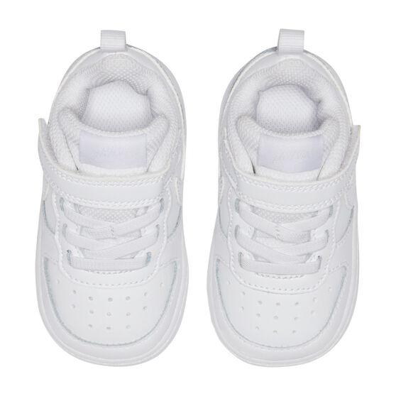 Nike Court Borough Low 2 Toddlers Shoes, White, rebel_hi-res