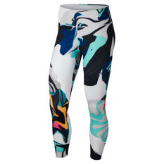 826e6d0d260b59 Nike Womens One 7   8 Training Tights Print XS
